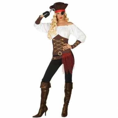 Piraat agatha verkleed pak/verkleedkleding voor dames