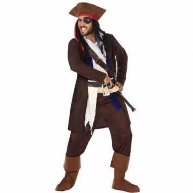 Piraat christopher verkleed pak/verkleedkleding voor heren