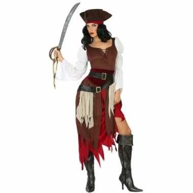 Piraat francis verkleed pak/verkleedkleding voor dames