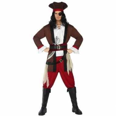 Piraat henry verkleed pak/verkleedkleding voor volwassenen