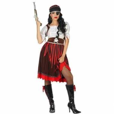 Piraat rachel verkleed pak/verkleedkleding voor dames