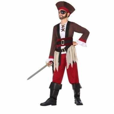 Piraten verkleed verkleedkleding voor jongens
