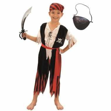 Piraten verkleedkleding maat m voor kinderen