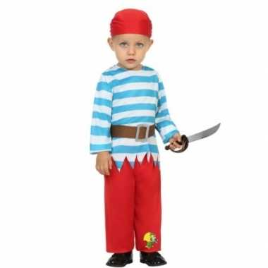 Piraten verkleedkleding peuters