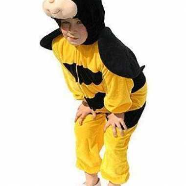 Pluche bijen verkleedkleding kinderen