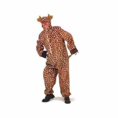 Pluche giraffe verkleedkleding