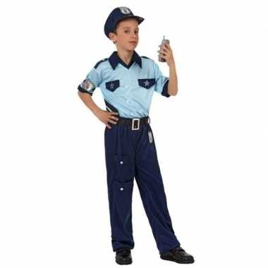 Politie agent pak / verkleed verkleedkleding voor jongens