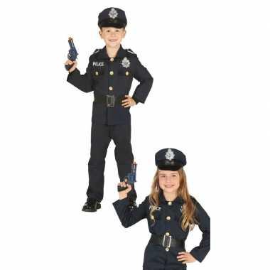 Politie agent verkleed verkleedkleding voor jongens/meisjes
