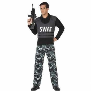 Politie swat verkleed pak/verkleedkleding voor volwassenen