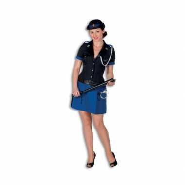 Politie verkleedkleding polyester voor dames