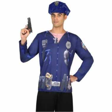 Politie verkleedkleding voor heren