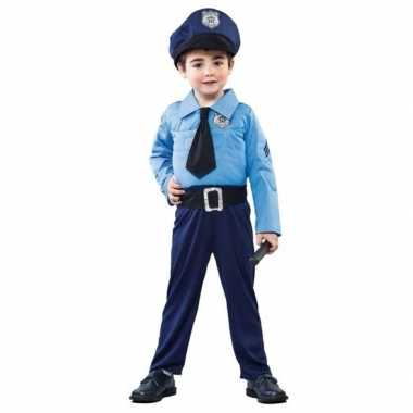 Politieman verkleedkleding voor jongens