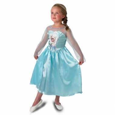 Prinsessen feest verkleedkleding elsa voor meisjes