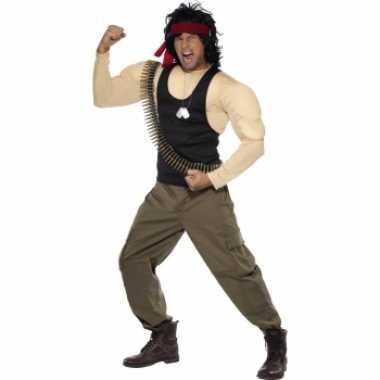 Rambo verkleed verkleedkleding voor heren
