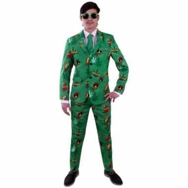 Reggae verkleedkleding pak voor heren