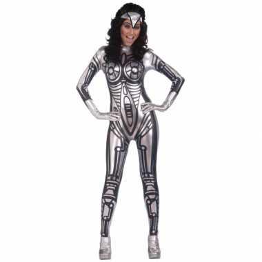 Robot verkleedkleding verkleedkleding voor dames