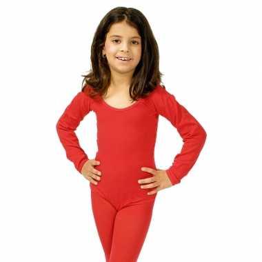 Rode kinder ballet verkleedkleding