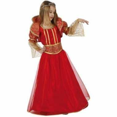 Rode koningin verkleedkleding voor meisjes