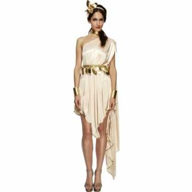 Romeinse godin verkleedkleding jurk voor dames