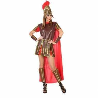 Romeinse soldaat/gladiator felicia verkleedkleding/jurk voor dames