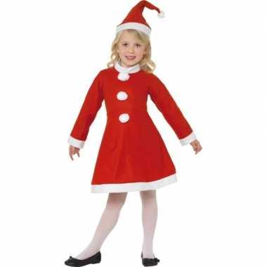 Rood kerst verkleedkleding meiden