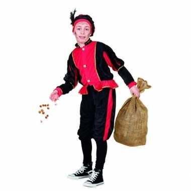 Rood pieten verkleedkleding voor kinderen