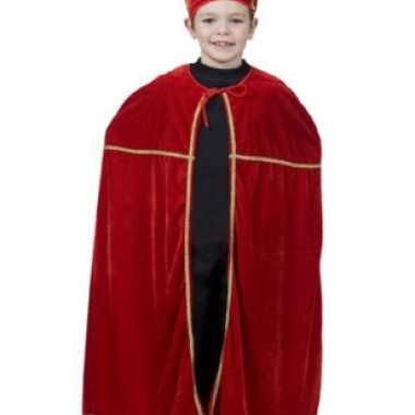 Rood sinterklaas verkleedkleding voor kinderen