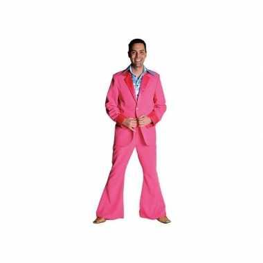 Roze verkleedkleding voor heren