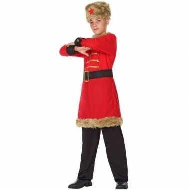 Russische kozakken verkleed verkleedkleding voor jongens