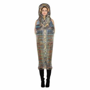 Sarcofaag toetanchamon verkleedkleding voor volwassenen