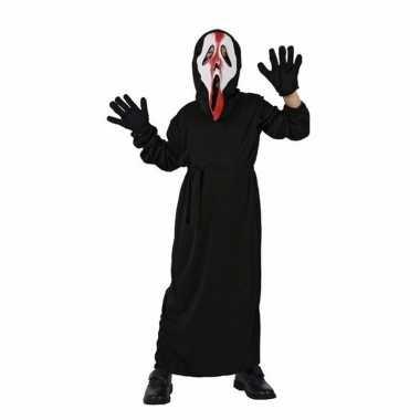 Schreeuwend spook verkleedkleding voor kinderen
