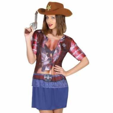 Sheriff verkleedkleding voor dames