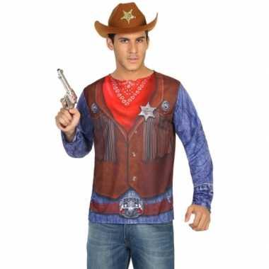 Sheriff verkleedkleding voor heren