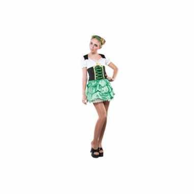 Sint patricks day verkleedkleding voor een vrouw