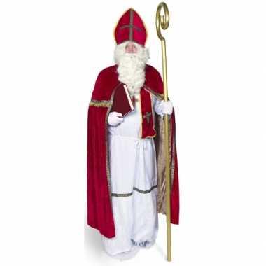 Sinterklaas verkleed verkleedkleding voor volwassenen
