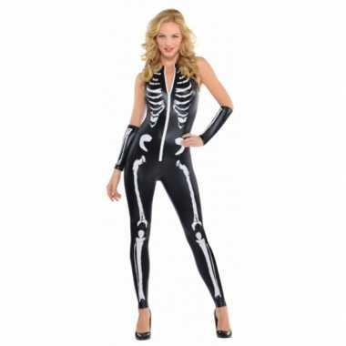 Skelet verkleedkleding voor dames