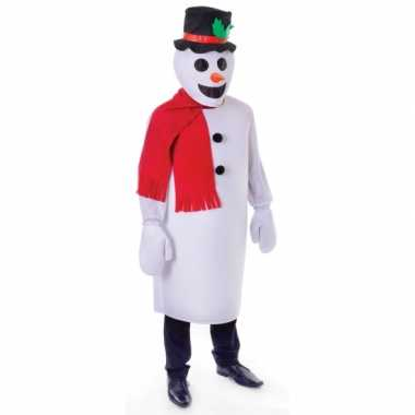 Sneeuw man verkleedkleding