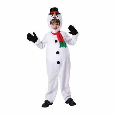 Sneeuwpop verkleedkleding voor kinderen
