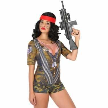 Soldaat verkleedkleding voor dames