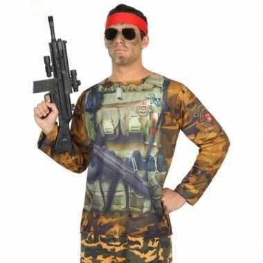 Soldaat verkleedkleding voor heren