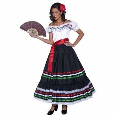 Spaanse danseres verkleedkleding voor dames