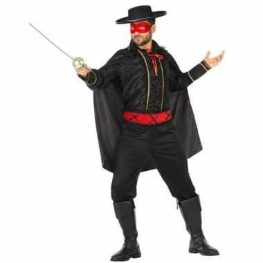 Spaanse gemaskerde held verkleed verkleedkleding voor heren