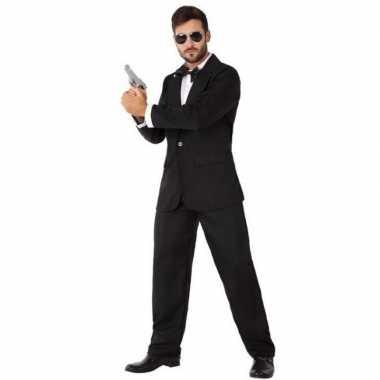 Spion/geheim agent verkleedkleding voor heren