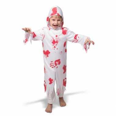 Spook verkleedkleding met bloed voor kinderen
