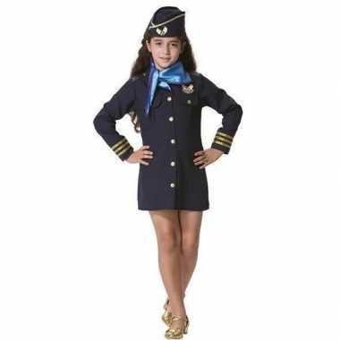Stewardess verkleedkleding voor meisjes