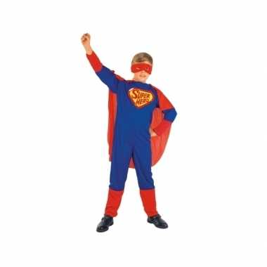 Super jongen kinderverkleedkleding