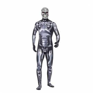 Terminator endoskeleton verkleedkleding voor heren