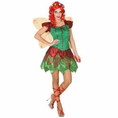 Toverfee/elfen jurkje verkleed verkleedkleding voor dames