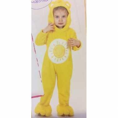 Troetelberen verkleedkleding geel voor meisjes