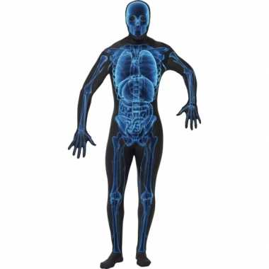 Tweede huid verkleedkleding x ray